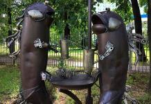 Los signos del Zodiaco viven en Moscú y son de chatarra