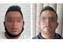 Caen dos mexiquenses que no pudieron acreditar posesión legal de varios cheques