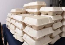 Instituto de gastronomía reparte comida a personas en condición vulnerable o quienes requirieran alimentos