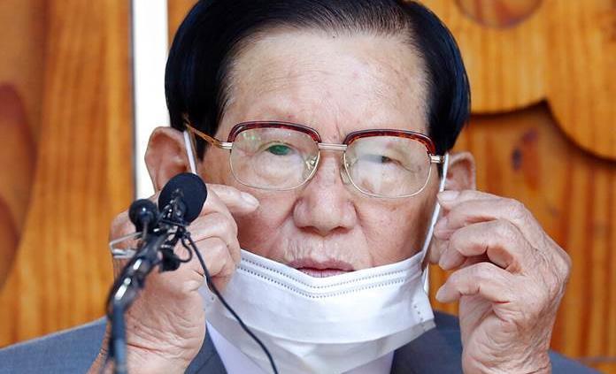 Detienen al líder de la secta surcoreana que originó gran brote de COVID-19
