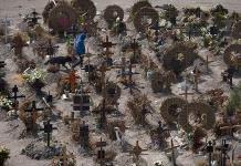 México, al top 3 de muertes por la Covid-19