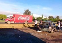 Tres heridos, en percance de la carretera a México