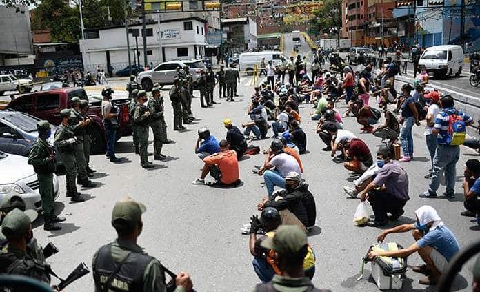 Pese a pandemia siguen campañas en Venezuela
