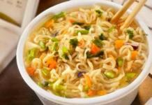 Prepara sopa estilo Maruchan con ingredientes saludables