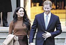 Meghan Markle y el príncipe Harry regresarán al Reino Unido