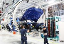 BMW inicia fabricación de vehículos híbridos en San Luis Potosí (FOTOS)