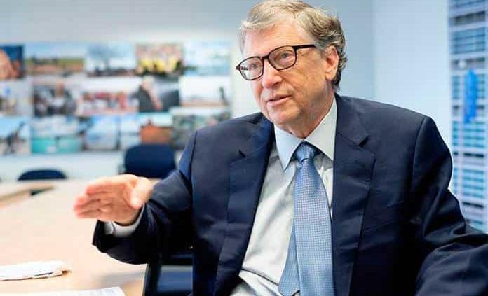 Bill Gates cree que los ricos no deben comer carne