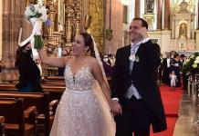 Mariana Espinosa Delgado y Héctor Fernández Cárdenas unen sus vidas por amor