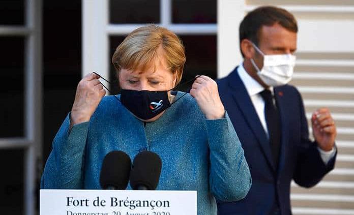 Merkel reta a Macron antes de la final de la Champions: Que gane el mejor