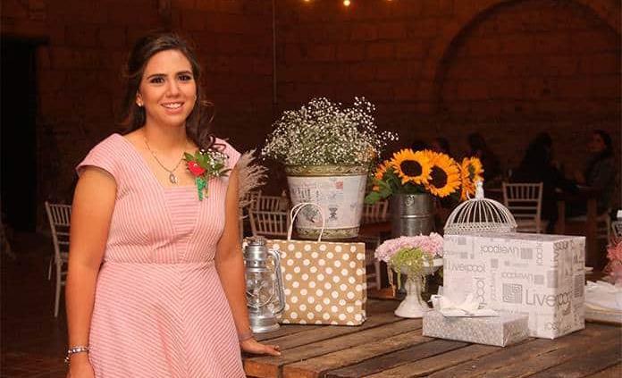 Maripaz Ress Briones,feliz en la víspera de su boda