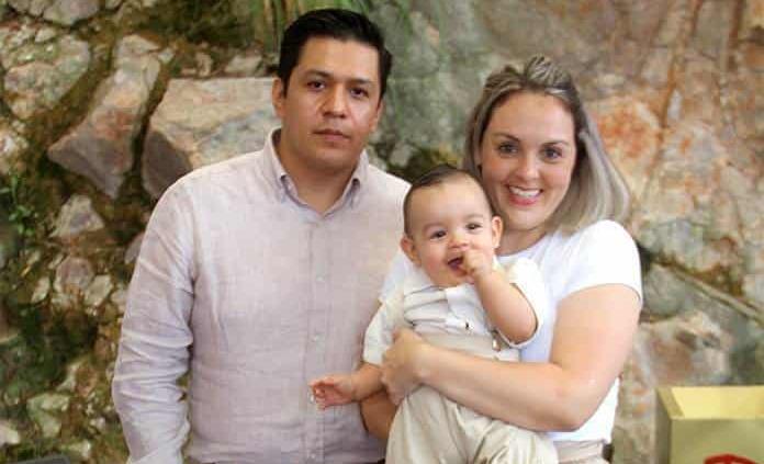 Matías Gutiérrez Cornejo recibió el bautismo