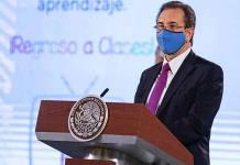 Esteban Moctezuma defiende uso de cubrebocas