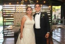 Maripaz Ress Briones y Alejandro Towns Delgado efectuaron sus esponsales