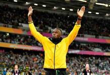 Usain Bolt, feliz por ser considerado una leyenda como Maradona, Pelé o Ali