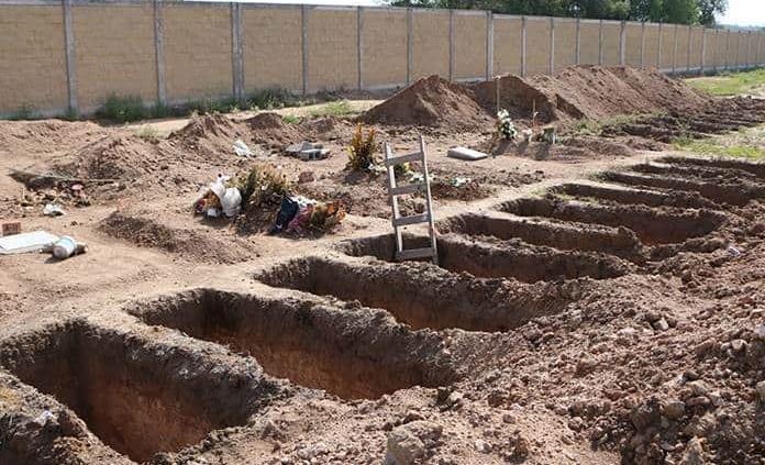 De 50 fosas Covid en Milpillas, ya sólo quedan 14