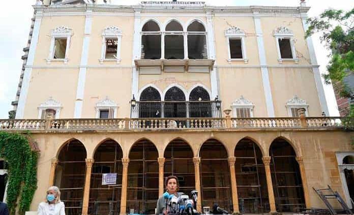 Unesco estima que se necesitan cientos de millones de dólares para salvar el patrimonio de Beirut