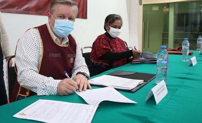 Firman SUPERISSSTE e INAPAM convenio para beneficio de las y los adultos mayores