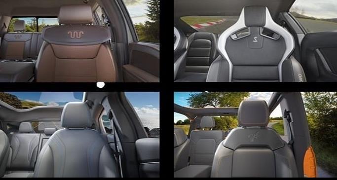 El fondo de su próxima videollamada puede ser la cabina de un Shelby GT o un Mustang Mach