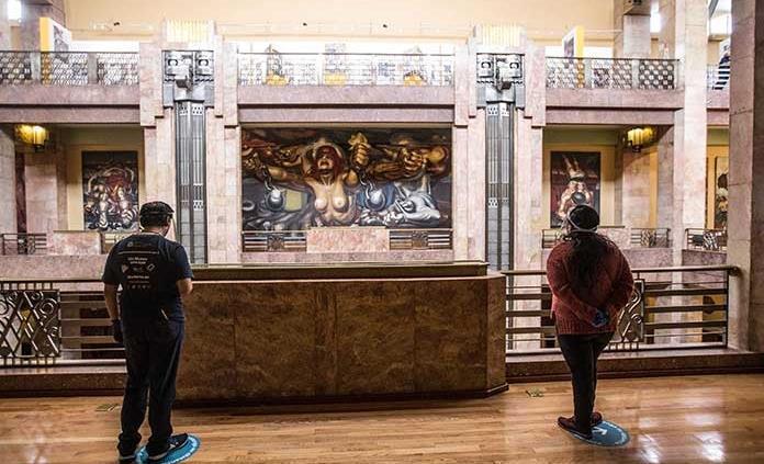 Reapertura de Bellas Artes, gradual y segura para público y personal