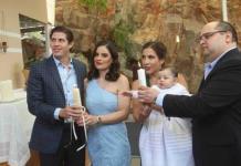 Catalina Enríquez Arévalo recibió el bautismo