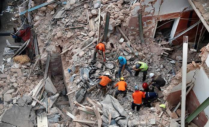 Disminuyen esperanzas de sobreviviente a explosión en El Líbano