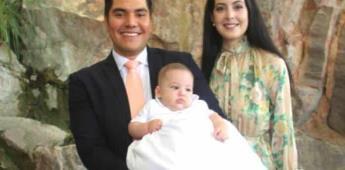 Leonardo García de León Liera es bautizado
