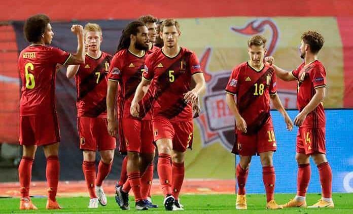 Golea Bélgica a Islandia 5-1