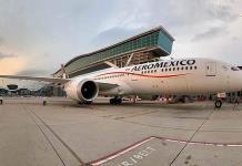 Aeroméxico rompe un récord de vuelo
