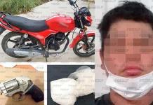 Detienen FGE y Sedena a sujeto con arma y droga en el municipio de Vanegas