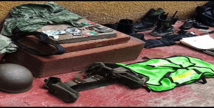 Decomisan dos vehículos y equipo táctico en Cárdenas
