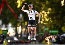 El danés Andersen sorprende a los sprinters y gana en Lyon