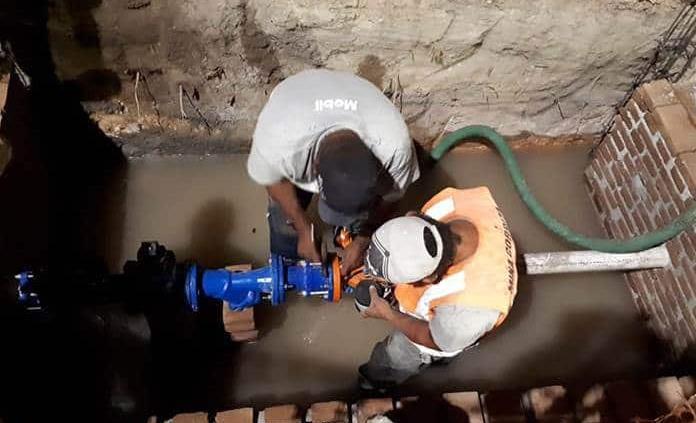 Continúa SAPSAM con los trabajos de mantenimiento