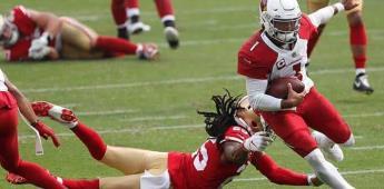 Hopkins guía a Cardinals, que sorprenden 24-20 a 49ers