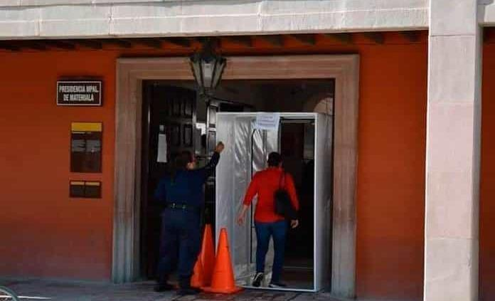 Refuerzan medidas sanitarias en Alcaldía