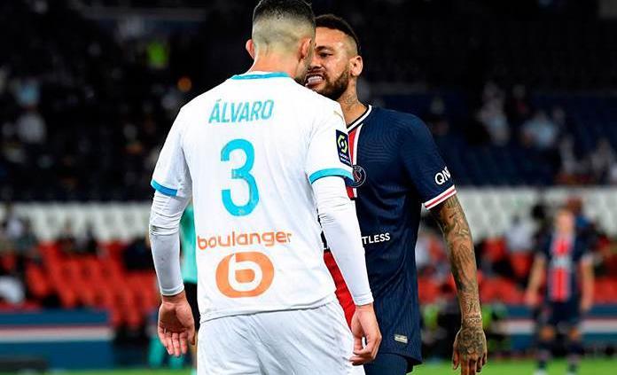 El Marsella dice que Álvaro González no es racista tras acusación de Neymar