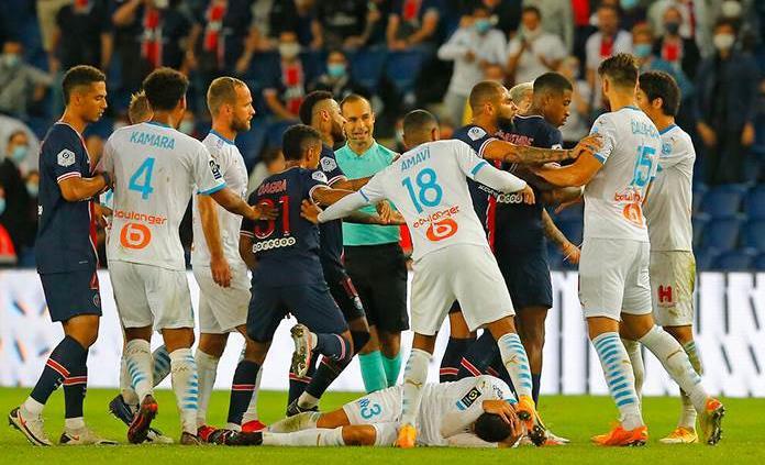 La Liga francesa decidirá el miércoles las sanciones a expulsados del PSG - Olympic
