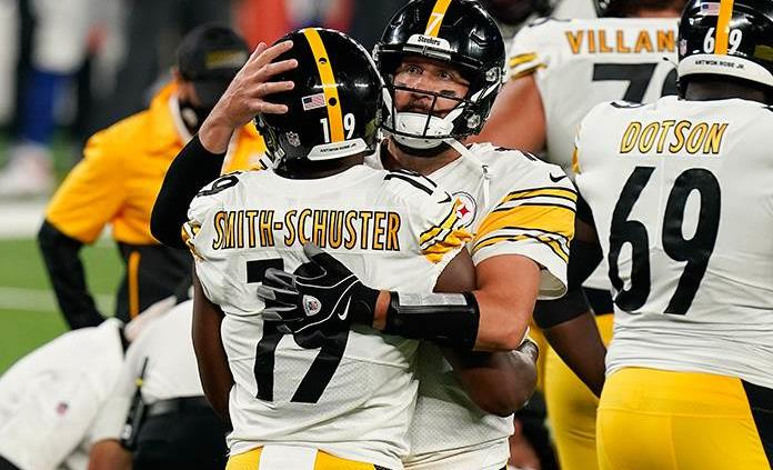 Roethlisberger y la defensiva guían a Steelers sobre Giants