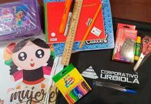 Asociación AUR regala kit escolar y ofrece internet gratuito para estudiantes