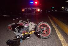 Fallece mujer embarazada en un percance de moto