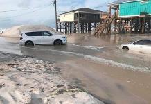 Las tormentas congestionan la cuenca atlántica