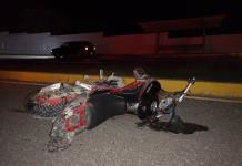 Fallece mujer embarazada en un accidente de motocicleta