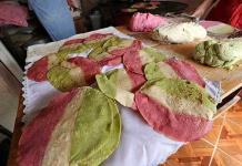 Bajan ventas de tortillas tricolores