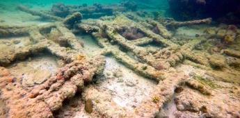 INAH identifica al primer naufragio esclavista de mayas en aguas de Yucatán