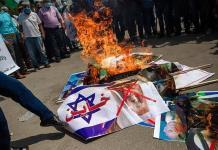 Milicianos de Gaza lanzan cohetes a Israel durante firma del pacto de Abraham