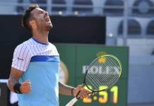 Caruso vence a Sandgren y se medirá ante Djokovic en Roma