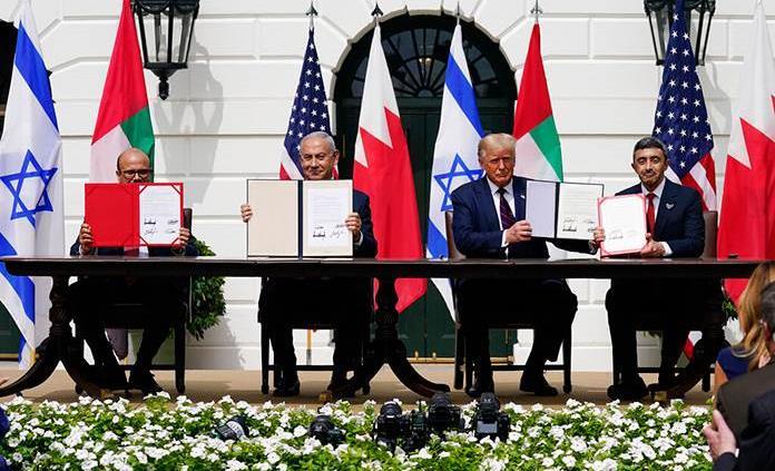 Israel firma con Emiratos y Baréin los Acuerdos de Abraham en la Casa Blanca