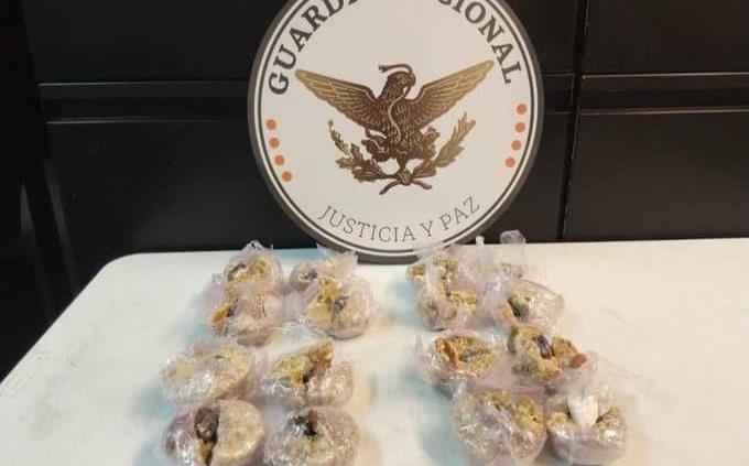 Guardia Nacional decomisa dulces típicos mexicanos rellenos de cocaína que iban a Canadá