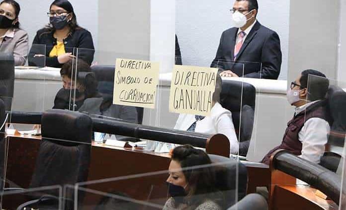 Morenistas boicotearon su arribo a la Directiva