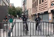 Inician operativo en centro de la CDMX para evitar que gente entre al Zócalo (VIDEO)