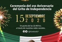 ¿Cómo serán en SLP las atípicas ceremonias oficiales alusivas a la Independencia?